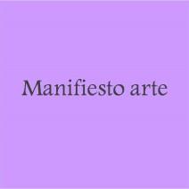 Manifiesto arte para ser artista