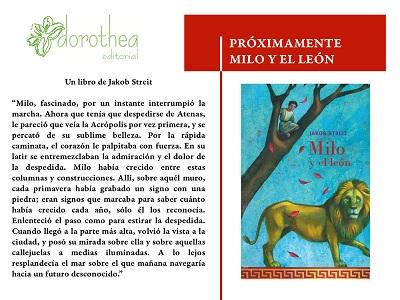 Próximamente: Milo y el león