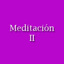 Meditación II